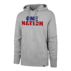 One Nation Hoodie - Gray