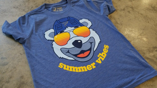 Louie Summer Vibes Triblend Youth tee - STL Authentics