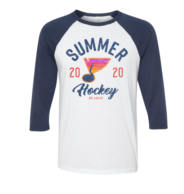 Summer Hockey 2020 Raglan - STL Authentics