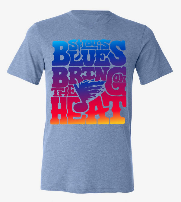 Bring The Heat Triblend Tee - STL Authentics