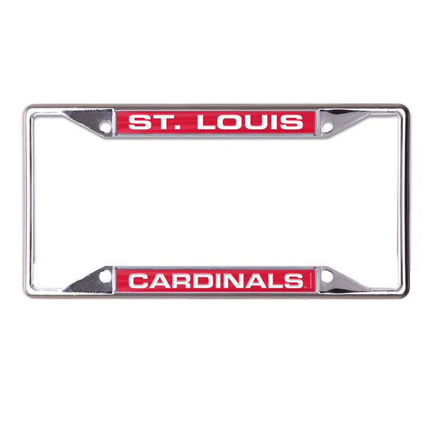 St. Louis Cardinals WinCraft Inlaid Metal License Plate Frame | STL Authentics