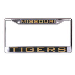University of Missouri WinCraft Inlaid Metal License Plate Frame - STL Authentics