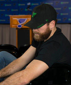 St.Louis Blues '47 Brand Ryan O'Reilly St.Pat's Snapback Hat - STL Authentics