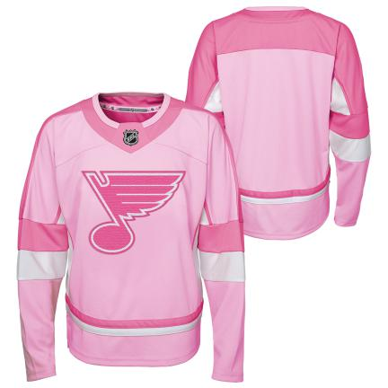 Outterstuff Youth NHL Pink Replica Jersey - STL Authentics