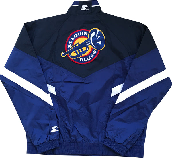 G-III Retro Blues Trumpet Starter Full Zip Jacket