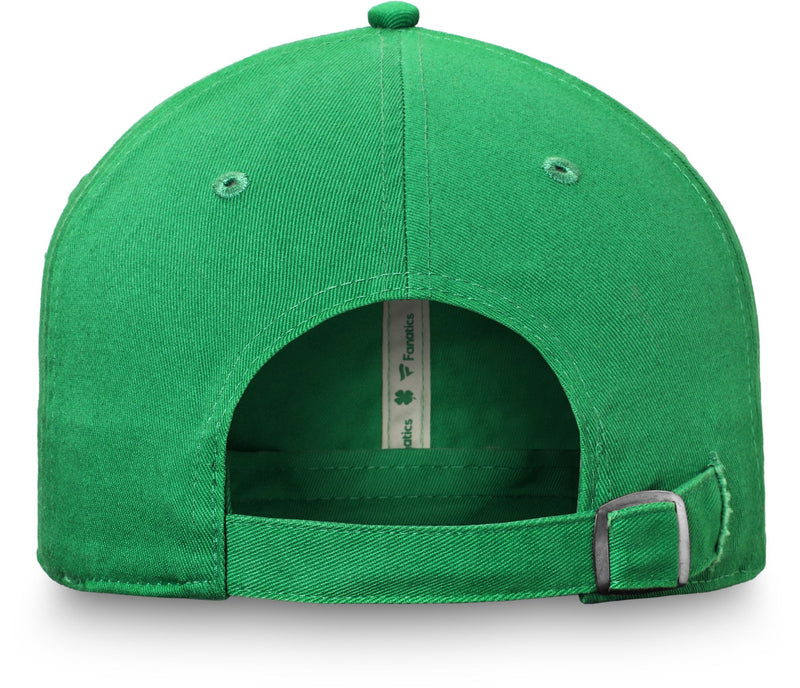 St. Patrick's Day St. Louis Blues Logo Adjustable Hat - STL Authentics