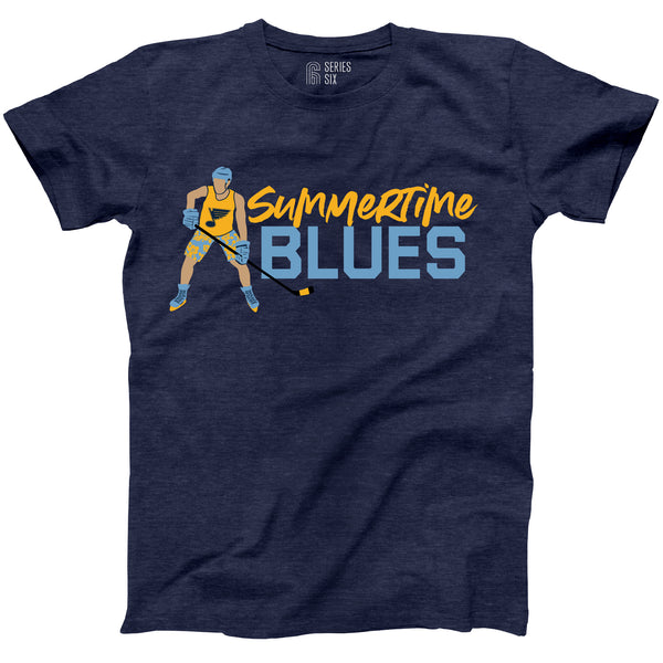 Summertime Blues T-Shirt - STL Authentics