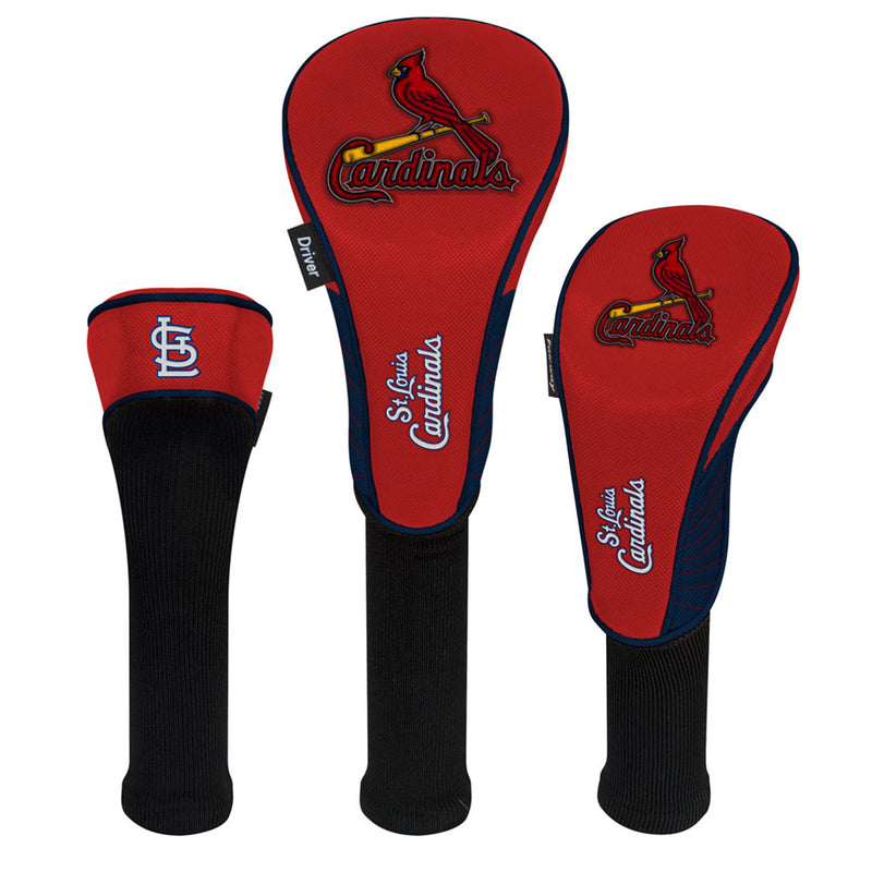St. Louis Cardinals WinCraft Embroidered Set of Three Headcovers - STL Authentics