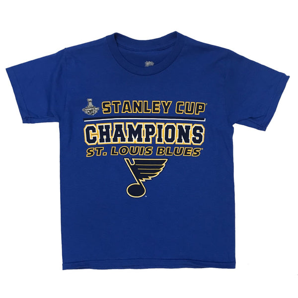St. Louis Blues Youth CHAMPION Tee - STL Authentics