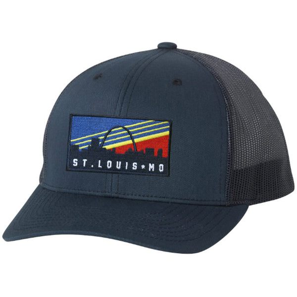 Retro Skyline Trucker Hat - STL Authentics