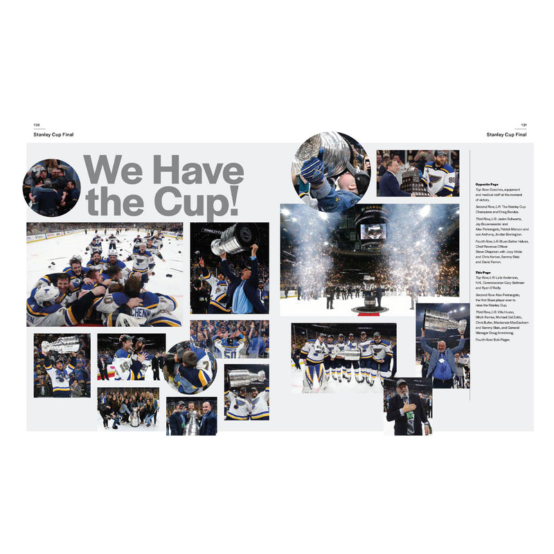 History Made: The Official Story of the 2019 Stanley Cup Champion St. Louis Blues