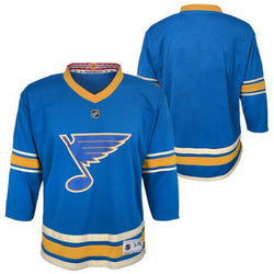 St.Louis Blues Outerstuff Youth NHL Alternate Replica Blank Jersey - STL Authentics