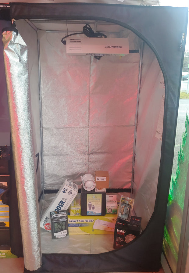 Tent Package 3x3 with LightSpeed HPS