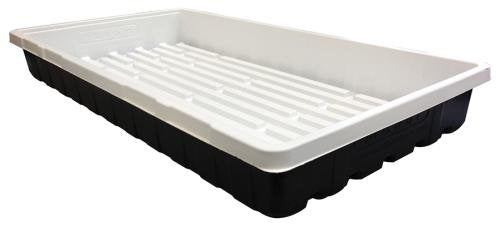 FLATS (TRAYS) - White Inside (Mondi) No Holes Double Thick