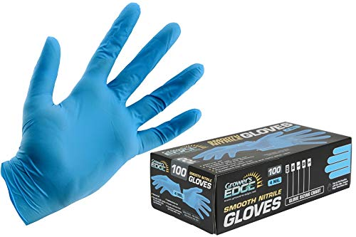 GLOVES - Grower'sEdgeNitrilePowderFree Sm
