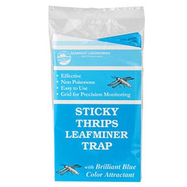 Sticky Thrip Leafminer Trap - Blue 5 strips