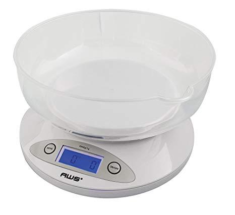 SCALE - AWS 5K-Bowl Kitchen Scale *Special Order**