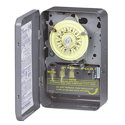 INTERMATIC T103 Double Pole 125V Clock