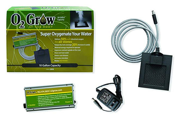 O2Grow - 40 Gal Capacity / 2 Emitter Item 2040