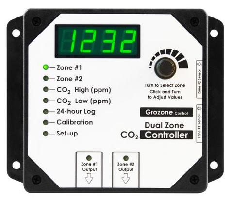 Dual Zone CO2 Controller - CO2D