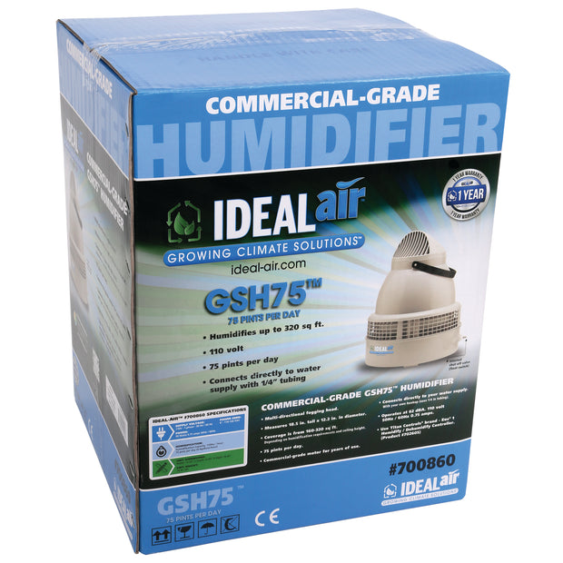 Humidifier - Ideal-Air Mini Commercial Grade- 75 Pints