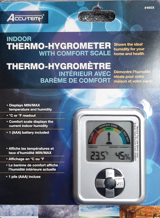 Accutemp Thermo-Hygrometer