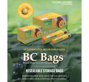 BC Bags Resealable Storage Bags