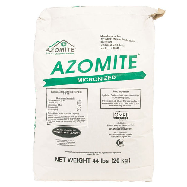 Azomite - Micronized and Slow Release