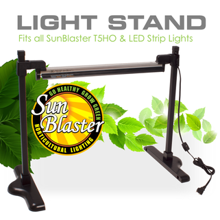 SunBlaster Universal T5 Stand 1.5-4 ft width
