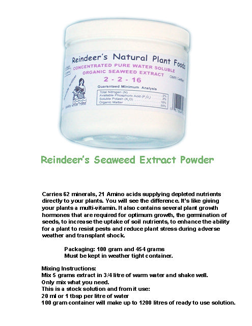 Seaweed Extract - 2 sizes