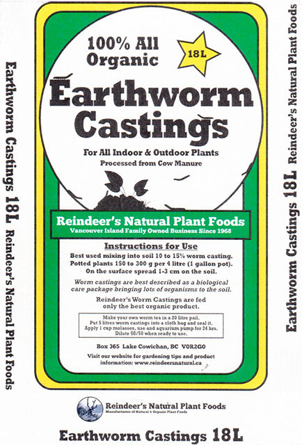 Worm Castings - 2 sizes
