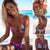 Women Swimsuit Bandage Halter Beach Wear Bikini