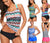 Sexy Tankini Swimwear Two Piece Swimsuits
