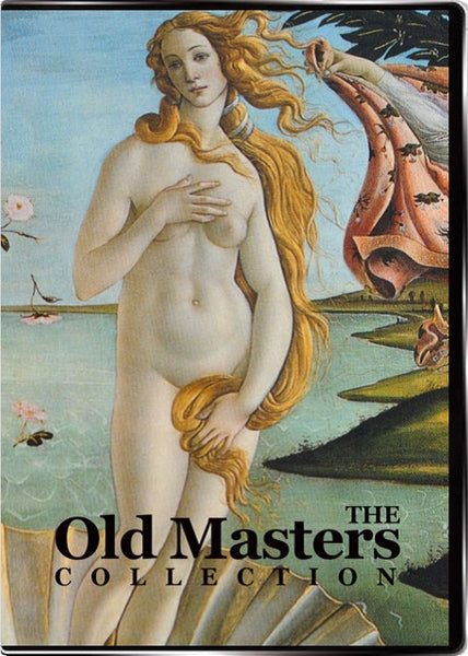 Set of Old Masters Images, CD or DVD