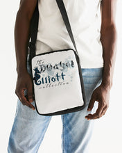 Load image into Gallery viewer, Dwayne Elliott Collection Paisley design Messenger Pouch - Dwayne Elliott Collection