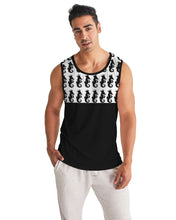 Laden Sie das Bild in den Galerie-Viewer, Dwayne Elliott Collection Logo All Print Men's Sport Tank - Dwayne Elliott Collection