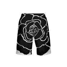 Load image into Gallery viewer, Dwayne Elliot Collection Black Rose Boy's Swim Trunk - Dwayne Elliott Collection