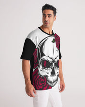 Laden Sie das Bild in den Galerie-Viewer, Dwayne Elliott Collection Skull Rose Men's Premium Heavyweight Tee - Dwayne Elliott Collection