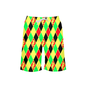 Dwayne Elliott Colection RBG Boy's Swim Trunk - Dwayne Elliott Collection