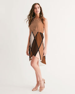 Dwayne Elliott Collection Women's High-Low Halter Dress - Dwayne Elliott Collection