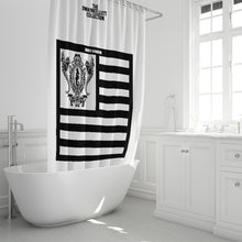 "Load image into Gallery viewer, Dwayne Elliott Collection Shower Curtain 72""x72"" - Dwayne Elliott Collection"