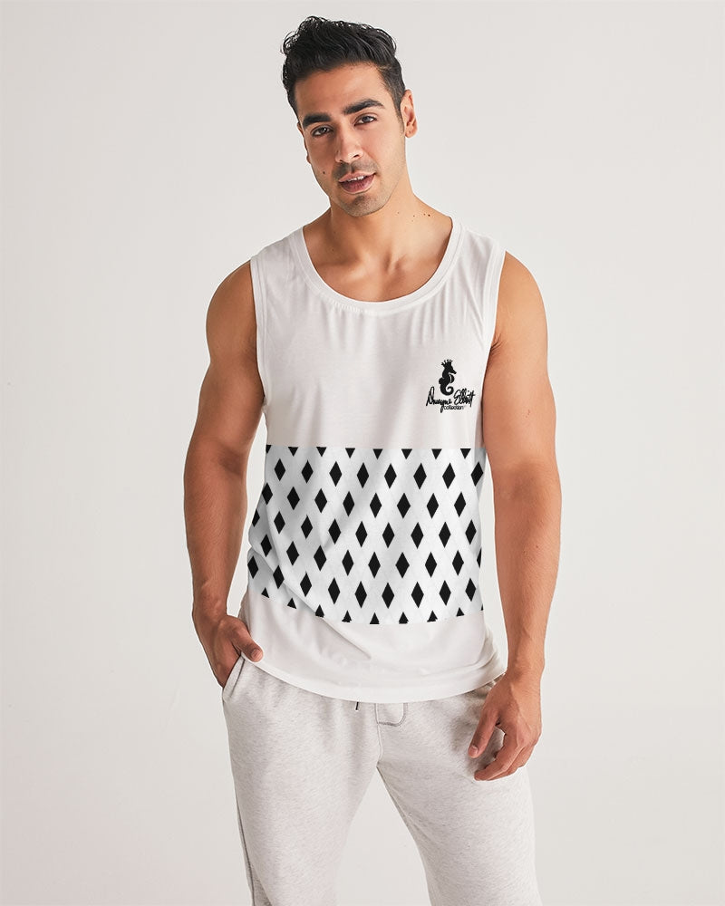 Dwayne Elliott Collection Black Diamond Men's Sport Tank - Dwayne Elliott Collection
