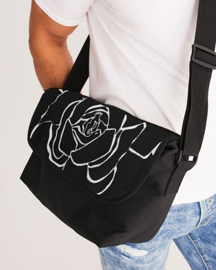 Dwayne Elliot Collection Black Rose Messenger Bag - Dwayne Elliott Collection