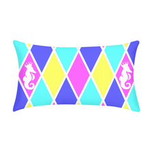 Laden Sie das Bild in den Galerie-Viewer, Dwayne Elliott Collection Argyle King Pillow Case - Dwayne Elliott Collection
