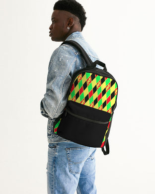Dwayne Elliott Colection RBG Small Canvas Backpack - Dwayne Elliott Collection