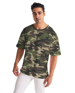 Dwayne Elliott Collection Camouflage Men's Premium Heavyweight Tee - Dwayne Elliott Collection