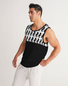 Dwayne Elliott Collection Logo All Print Men's Sport Tank - Dwayne Elliott Collection