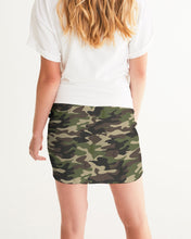 Load image into Gallery viewer, Dwayne Elliott Collection Camo Women's Mini Skirt - Dwayne Elliott Collection