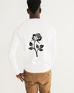 Dwayne Elliot Collection Black Rose Men's Graphic Sweatshirt - Dwayne Elliott Collection