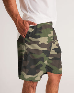 Dwayne Elliott Collection Camo Men's Jogger Shorts - Dwayne Elliott Collection